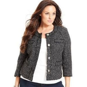 Michael Michael Kors Tweed Career Blazer | 8